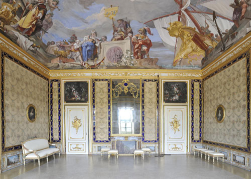 Al palazzo di stupinigi torino riapre l 39 appartamento for Palazzo villa torino